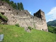Руины городских стен