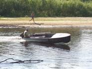 На реке в Окском заповеднике