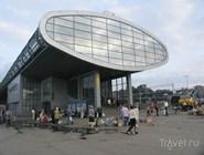 Железнодорожная станция в Мытищах