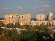 Панорама города Пушкино