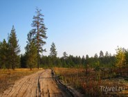 Пейзаж севера Пермского края