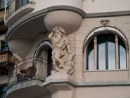 Элемент декора старого здания