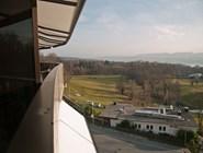Вид на поле для гольфа