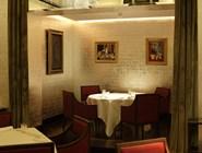 Столик в ресторане The Restaurant