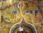 Фрески Дионисия в соборе Рождества Богородицы