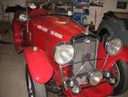 В музее старых автомобилей