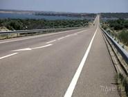 Бесплатная дорога в центральной Португалии