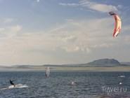 Серфинг на озере Белё