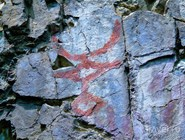 Петроглиф в Хакасии