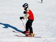 На лыжах с детства
