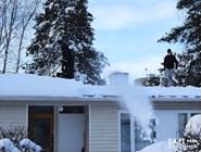 Чистка крыши