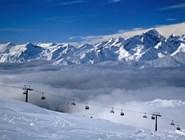 Над Доломитовыми Альпами