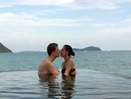 Романтическое купание