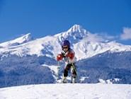 Ученик-горнолыжник