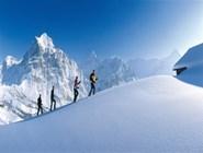 Снежный простор