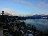 Вид с балкона отеля Montana