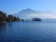 Живописные пейзажи Люцернского озера