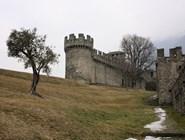 На подходе к замку Монтебелло