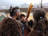 Викинги перед началом парада