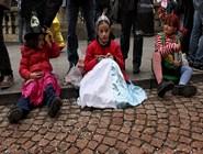 Дети в ожидании шествия
