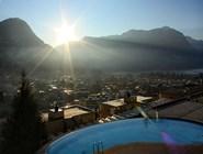 Вид из окна номера отеля Villa Sassa