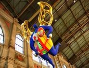 Ангел-хранитель Цюриха и прибывающих в него путешественников - скульптура под потолком цюрихского вокзала