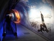 Туннель, соединяющий Ледяной дворец и башню Сфинкс