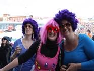 Посетительницы фестиваля
