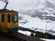 Самая высокогорная железная дорога Европы