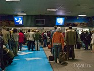 Очередь на паспортном контроле, Виндхук