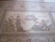 Одна из мозаик виллы Диониса