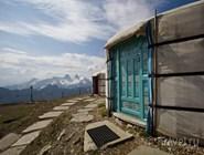 Монгольские юрты на Роше-де-Най