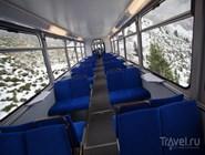 В вагоне поезда Golden Pass