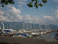Яхты в гавани Лозанны