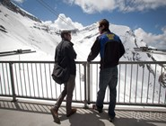 На леднике Glacier 3000