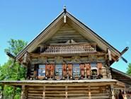 """В музее деревянного зодчества """"Витославлицы"""""""