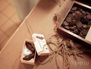 Шоколадные ботинки