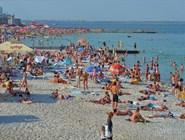 Пляжи Одессы забиты отдыхающими