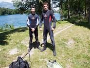 Цветастые купальные костюмы