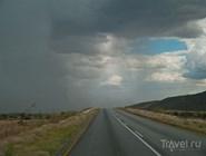 Дождь и солнце - типично для Намибии
