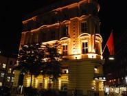Здание отеля Mandarin Oriental