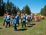 Традиционные праздники, фестивали. Шествие свадьба Кикиморы Вятской