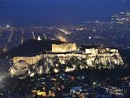 Акрополь ночью
