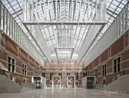 Вход в Государственный музей Rijksmuseum