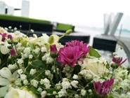 Флористическая композиция в отеле W Retreat Ko Samui
