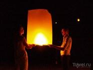 Запуск фонариков в отеле W Retreat Ko Samui