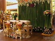 Зал для тайской свадьбы в отеле Santhiya Resort and Spa Koh Phangan