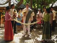 Выкуп невесты в отеле Santhiya Resort and Spa Koh Phangan