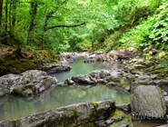 Река Змейка на территории Сочинского национального парка