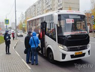 Автобусная остановка на ул.Свердлова в Балашихе